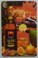 SAINT LUCIA - GPT - 18CSLA - $10 - STL-18AA - Lucian Rhum - Used - Santa Lucía