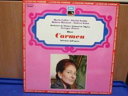 LP027 -CARMEN - SELEZIONE DELL'OPERA - MARIA CALLAS-NICOLAI GEDDA-ROBERT MASSARD-ANDREA GUIOT - Opera