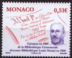 "Monaco YT 2680 "" Bibliothèque "" 2009 Neuf** - Monaco"