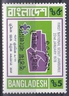 Bangladesch Bangladesh 1985 Organisationen Pfadfinder Scouts Jugend Youth Schwur Vow Oath, Mi. 242 ** - Bangladesch