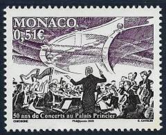 """Monaco YT 2681 """" Concerts """" 2009 Neuf** - Monaco"""