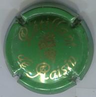CAPSULE-PETILLANT DE RAISIN - Vert Et Or Brillant - Mousseux