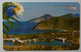 ST KITTS & NEVIS - 1st Issue Complimentary - GPT - $5.40 - 2CSKA - Shallow Notch - 1000ex - St. Kitts En Nevis