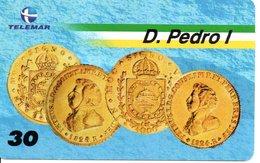 Télécarte Brésil   - Monnaie Money Pièce Numismatique Bank Banque   Phonecard  (G 689) - Timbres & Monnaies