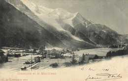 CHAMONIX Et Le MONT BLANC    Precurseur RV - Chamonix-Mont-Blanc
