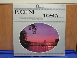 LP030 -TOSCA - BRANI SCELTI - ANTONIETTA STELLA-GIANNI POGGI-GIUSEPPE TADDEI- CORO E ORCHESTRA DEL TEATRO S. CARLO - Opera