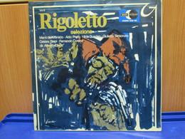 LP031 -RIGOLETTO - SELEZIONE -MARIO DEL MONACO-ALDO PROTTI-HILDE GUEDEN-GIULIETTA SIMIONATO-CESARE SIEPI-FERNANDO CORONA - Opera