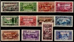 Grand Liban - 1926 - Y&T N° 63* à 74* - Grand Liban (1924-1945)