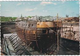 Stockholm:  Wasa I Torrdocka Efter Bärgningen, 1961 - The Wasa In Dry-dock After The Salvage In 1961 - Zweden