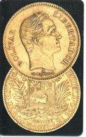 Télécarte Venezuela Monnaie Money Pièce  Numismatique Bank  (G 698) - Venezuela