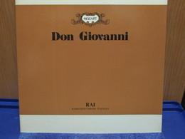 LP033 -DON GIOVANNI - EDIZIONE RAI -NICOLAI GHIAUROV-GUNDULA JANOWITZ-ALFREDO KRAUS-SENA JURINAC-OLIVERA MILJAKOVIC - Opera