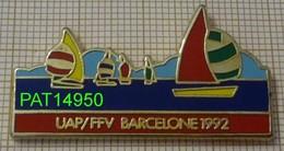 VOILE  OLYMPIQUE     UAP  FFV    BARCELONE 1992 VOILIER Sous SPI - Jeux Olympiques
