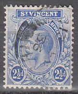 ST VINCENT     SCOTT NO  122      USED      YEAR  1921 - St.Vincent (...-1979)
