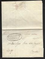DA CONSELICE PER CITTA' - 26.10.1831 - RAGGRUPPAMENTO DI TRUPPE ALLA BASTIA - POST MOTI DEL '31, - Italia