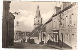 CP Uzel La Rue De L'Eglise 22 Côtes D'Armor - Autres Communes