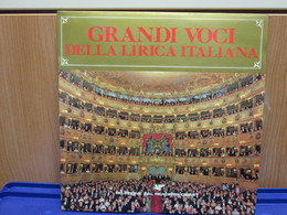 LP035 -GRANDI VOCI DELLA LIRICA ITALIANA-CALLAS-SIEPI-BERGONZI-PAGLIUGHI-CORELLI-TADDEI-SIMIONATO-TAGLIAVINI-TEBALDI - Opera