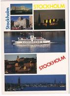 Stockholm:  Passengership 'DJURGARDEN 9' - Multiview - Zweden