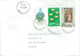 LETTER 2004 PAQUEBOT - Finland