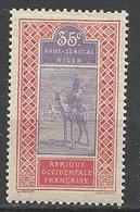 HAUT-SENEGAL Et NIGER N° 27 NEUF** LUXE SANS CHARNIERE / MNH - Haut-Senegal-Niger (1904-1921)