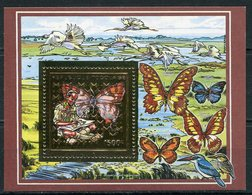 1990- TOGO- SCOUT& BUTTERFLY - GOLD STAMP  - M.N.H. LUXE !! - Togo (1960-...)