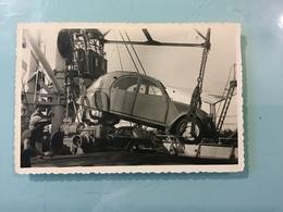 Photo 6 X 9 Cm Embarquement, Débarquement Véhicule - Automobiles
