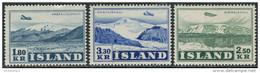 Iceland 1952. Michel #278/80  MNH(**)/Luxe. (Ts21) - Poste Aérienne