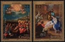 Serbia, 2011, Christmas , Set, MNH, Mi# 439/40 - Serbie