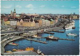 Stockholm - Skeppsbron: FISHING-BOATS, PASSENGER-SHIPS - Zweden