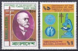 Bangladesch Bangladesh 1983 Persönlichkeiten Robert Koch Medizin Medicine Tuberkulose Nobelpreis, Mi. 179-0 ** - Bangladesch
