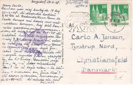 CPA Allemagne - Plön I. Holst - Plöner See Mit Blick Auf Das Schloß - Cachet ESPERANTO  - 1948 - Esperanto