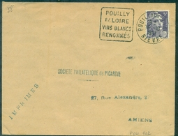 VINS DAGUIN POUILLY S/ LOIREvins Blancs.renommés.1953. - Wines & Alcohols