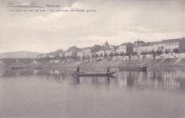782/ Remich, Vue Prise En Aval Du Pont, Von Unterhalb Der Brücke Gesehen - Remich