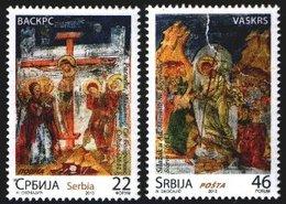 Serbia, 2013, Easter , Set, MNH, Mi# 493/94 - Serbie