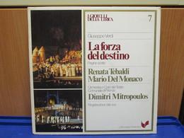 LP044 -I GIOIELLI DELLA LIRICA - LA FORZA DEL DESTINO - N. 7 - RENATA TEBALDI-MARIO DEL MONACO - Opera