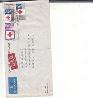 Croix Rouge - Grande Bretagne - Lettre FDC Exprès De 1953 - Oblit London - Exp Vers Donauworth - Cachet Red Cross - Cartas