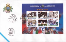 °°°  F.d.c. Mondiali Di Calcio N.204 °°° - FDC