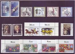 Germania 1985 - 6  Serie Complete Con Annullo Leggero E Rotondo - Usati