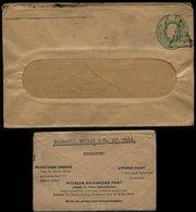 S6548 - England Privat GS Firmen Briefumschlag , Aluminium: Gebraucht Hull , Bedarfserhaltung. - 1902-1951 (Kings)