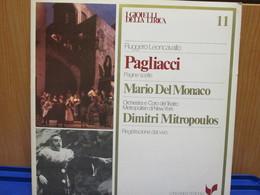 LP040 -I GIOIELLI DELLA LIRICA -PAGLIACCI - N. 11 - MARIO DEL MONACO - Opera