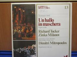 LP039 -I GIOIELLI DELLA LIRICA -UN BALLO IN MASCHERA - N. 13 - RICHARD TUCKER-ZINKA MILANOV - NUOVO - Oper & Operette