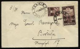 S1337 Rumänien , Briefumschlag ,gebraucht Reghim - Bistrata 1933, Bedarfserhaltung. - Lettres & Documents