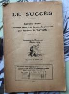 Michelin  1927   Le Succès - Autres Collections
