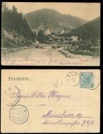 15203 Österreich AK Kals Uraltstempel - München 1903 , Bedarfserhaltung . - 1850-1918 Empire