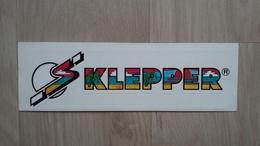 Aufkleber Der Firma KLEPPER - Stickers