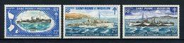 SPM MIQUELON N° 414/416 ** Neufs MNH Superbes  C 133 € Bateaux Vaisseaux De Guerre Ralliement Boat Ships Transports - St.Pierre & Miquelon