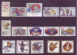 Germania 1988 - 7  Serie Complete Con Annullo Leggero E Rotondo - Usati