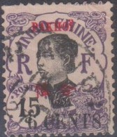 Indocina 1906 MiN°40 V PAK-HOI (o) - Usati