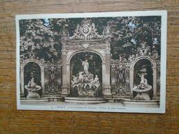 Nancy , La Fontaine De Neptune , Grilles De Jean Lamour - Nancy