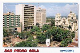 1 AK Honduras * Ansicht Der Stadt San Pedro Sula - Rechts Auf Der Karte Die Kathedrale * - Honduras