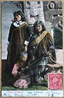 A Group Of Maoris. 1907. - New Zealand